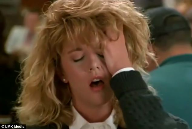 Meg Ryan en la película Harry te presento a Sally